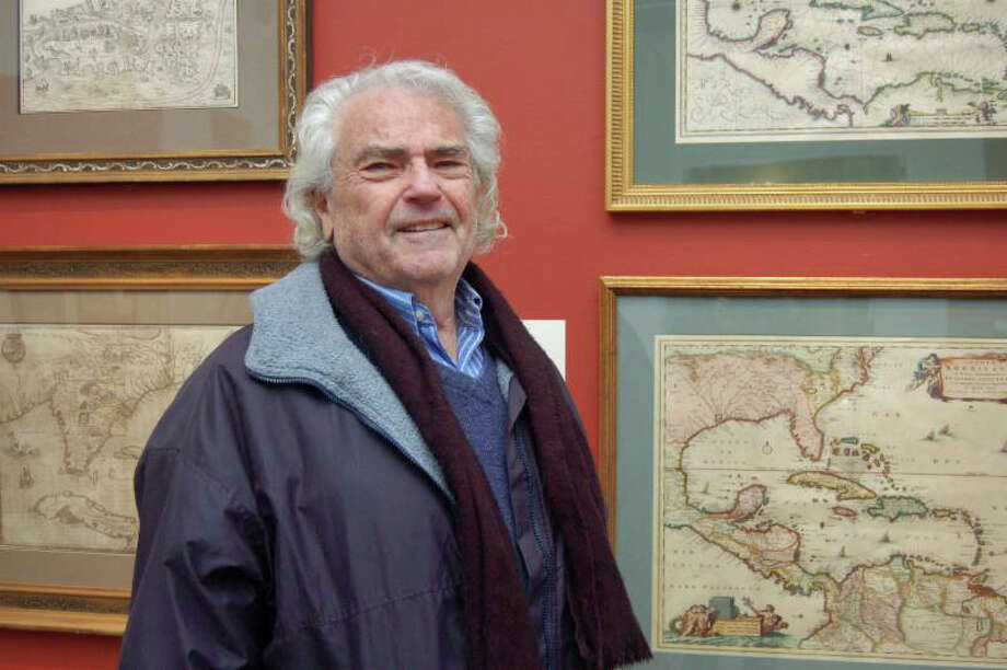 Jack A. Somer will discuss his collection of  30 European-made maps and sea charts at 2 p.m. Sunday at the Bruce Museumís Bantle Lecture Gallery. Free with Bruce Museum admission. Information:  educationreservations@brucemuseum.org. Photo: Contributed Photo / Greenwich Time Contributed