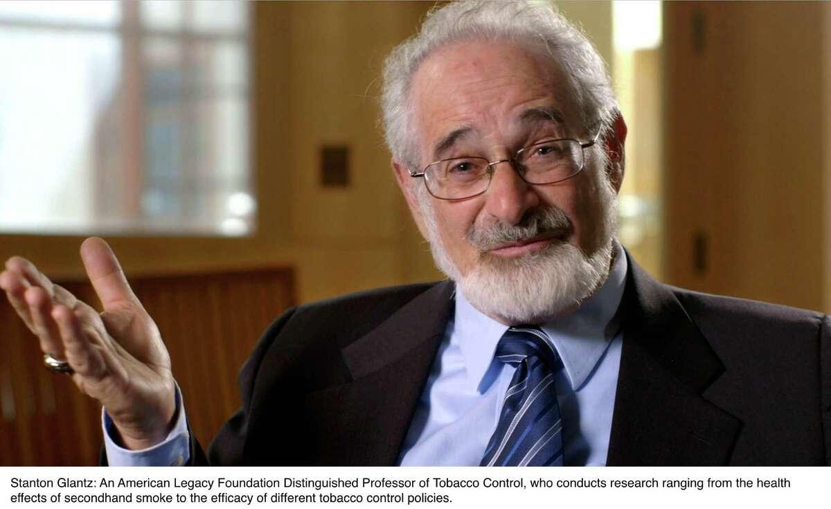 Stanton Glantz, American Legacy Foundation Distinguished Professor of Tobacco Control, in the documentary