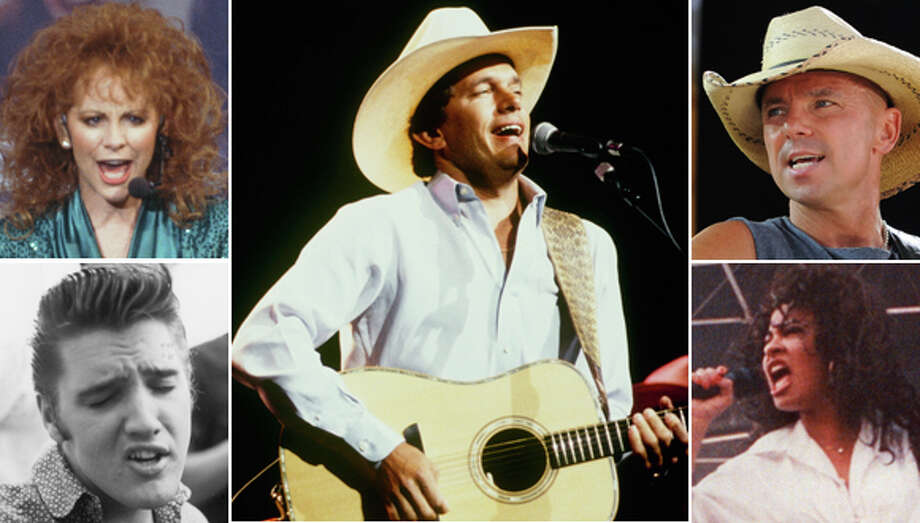 These are the 20 greatest RodeoHouston concert performers of all time. Photo: Getty Images
