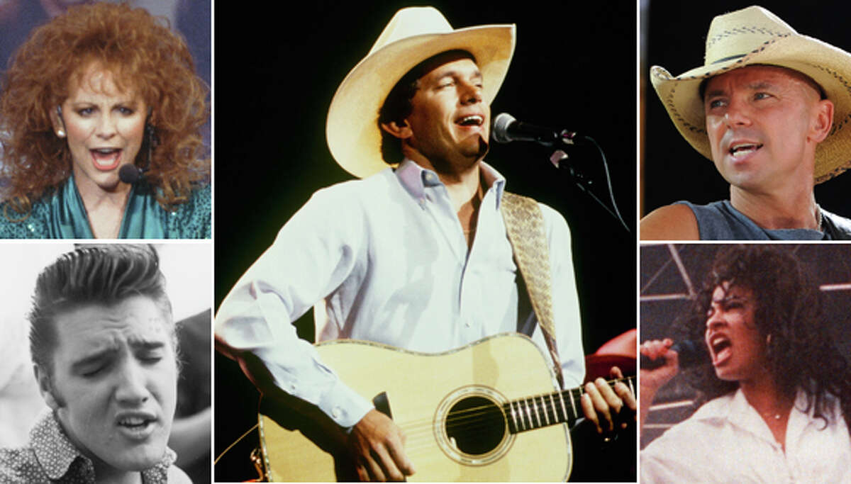 These are the 20 greatest RodeoHouston concert performers of all time.