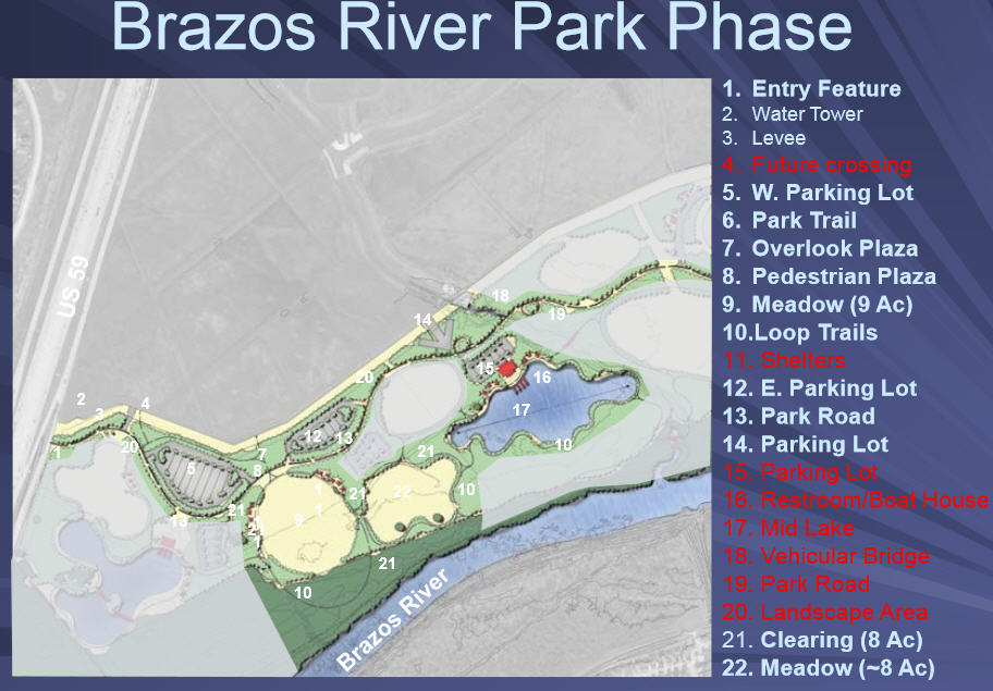 Sugar Land Focuses On Brazos River Park Project Houston