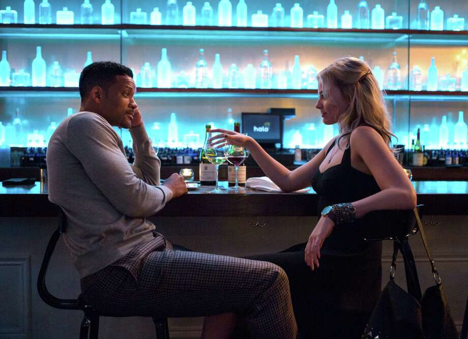 """Will Smith plays Nicky and Margot Robbie is Jess in """"Focus."""" Photo: Frank Masi / Frank Masi / Warner Bros. Pictures / Warner Bros. Pictures"""