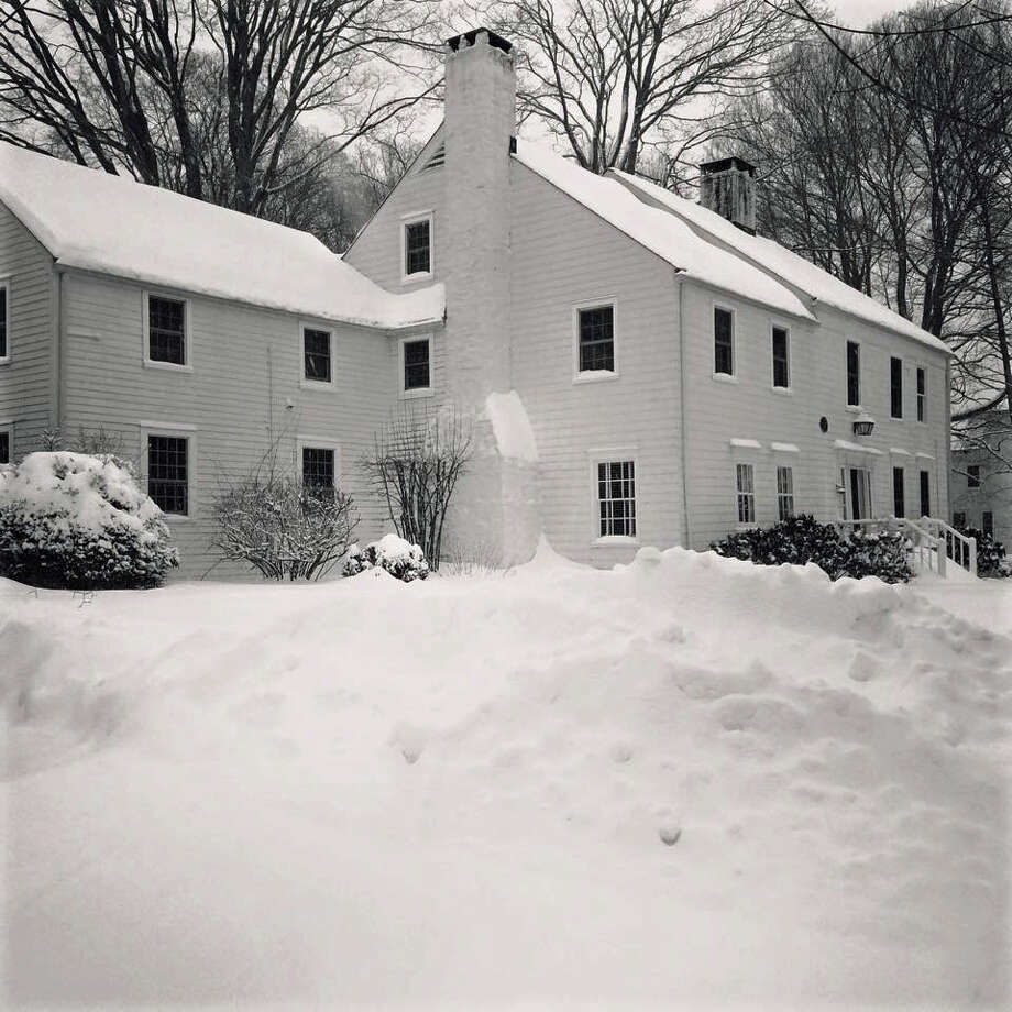 Pictured  is the Jonas White house ca: 1770, in historic Long Ridge Village. Aaron Stuart, an innkeeper, purchased the house from John Ingersol in 1789, and used it as the village's first inn. Photo: Contributed Photo / Greenwich Time Contributed