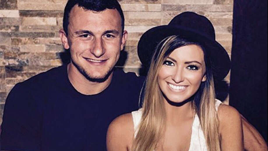 Johnny Manziel's ex-girlfriend, Colleen Crowley, told police he repeatedly struck her after a fight that began at a Dallas hotel and continued as he drove her home to Fort Worth, according to a police report released Thursday.