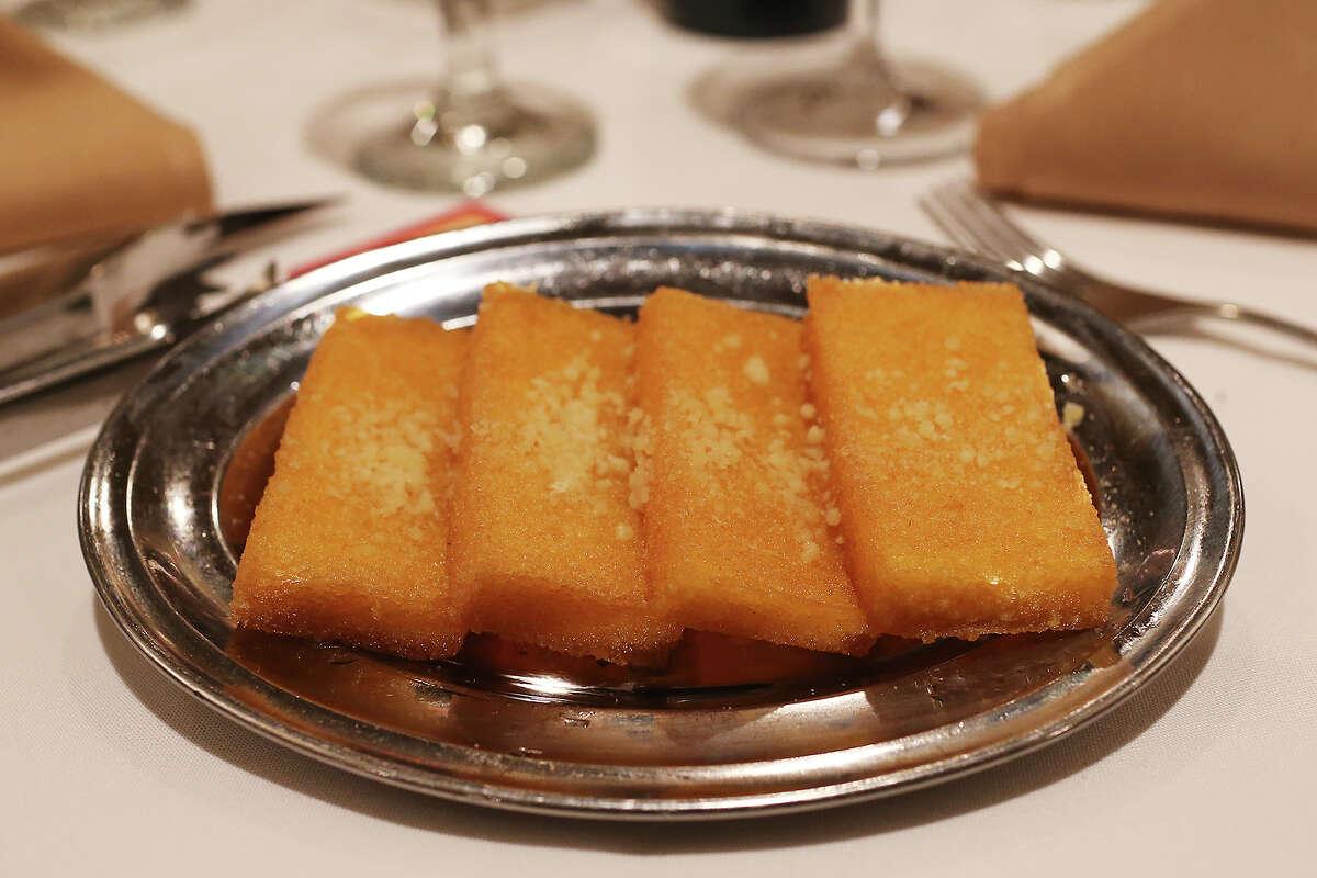 Chama Gaúcha Chama Gaúcha fries polenta, instead of potatoes.