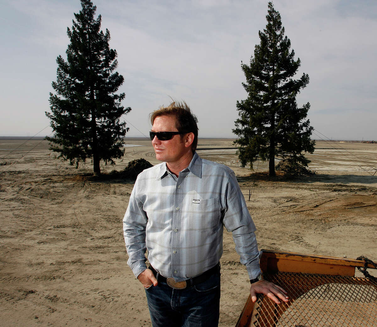 Developer Quay Hays has long planned to build a high-tech, solar-powered town on ranch land in the Central Valley.