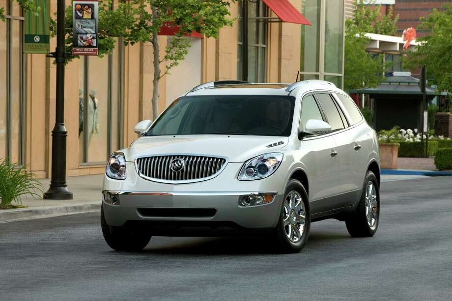 The average age of a Buick Enclave now is below 60, and it's even attracting people in their 30s.. Buick placed second on J.D. Power's annual ranking of vehicle dependability. Photo: Courtesy General Motors / General Motors