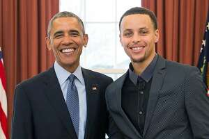 Curry's good deeds earn him visit with President Obama - Photo