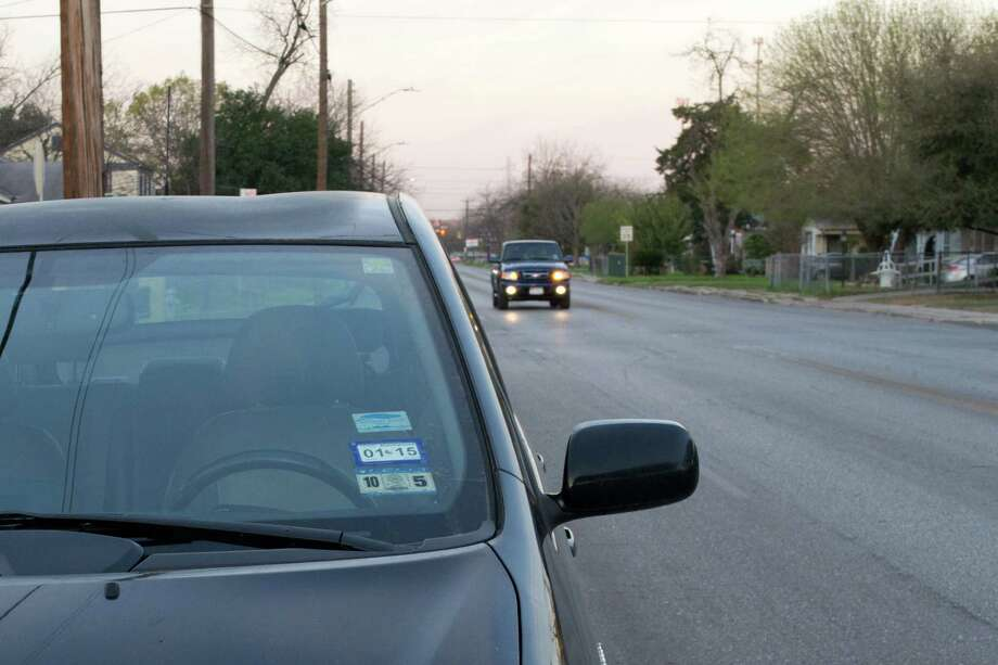 The fine for an expired sticker can cost a driver $152 in San Antonio, and this is a modest fine compared to those of common traffic violations detailed in the following gallery. Photo: San Antonio Express-News