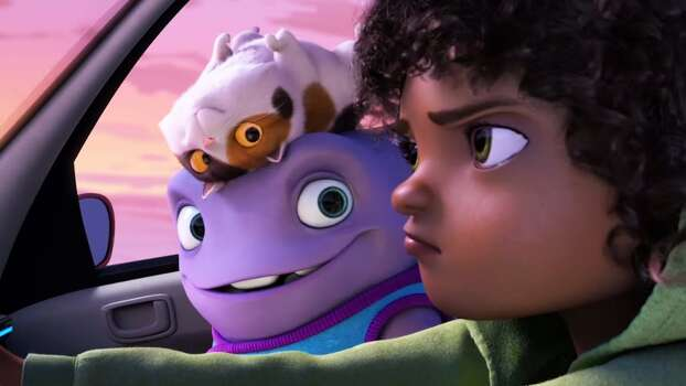 "HOME  Based on: The ""Smek Smeries"" by Adam Rex  Stars: (The voices of) Jim Parsons, Rihanna, Steve Martin, Jennifer Lopez"