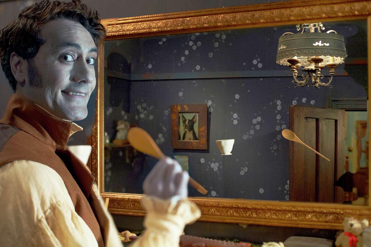 "Taika Waititi stars in the horror mockumentary ""What We Do in the Shadows."""