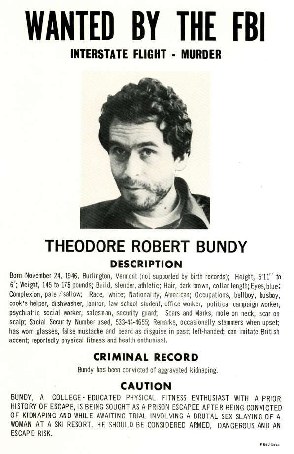 Ted Bundy, class of '72, mayalreadyhave begun murdering young women while he attended psychology classes at UW. After hisfinal capture in 1978, he later admitted to 30 killings, though inconsistent accounts by him in interviews suggest he may have killed many more. He was executed in 1989.