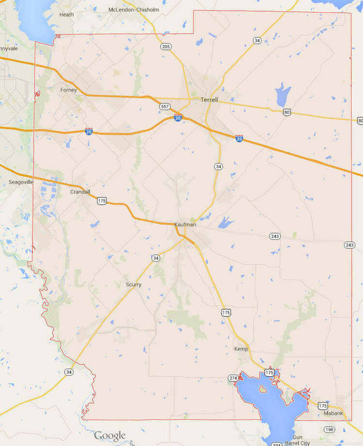 Most Obese Counties in Texas1. Kaufman County Obesity rate: 37 percent Physically inactive: 30 percentSource: CountyHealthRankings.orgObese: Percent of adults that report a BMI >= 30 Photo: Google Maps