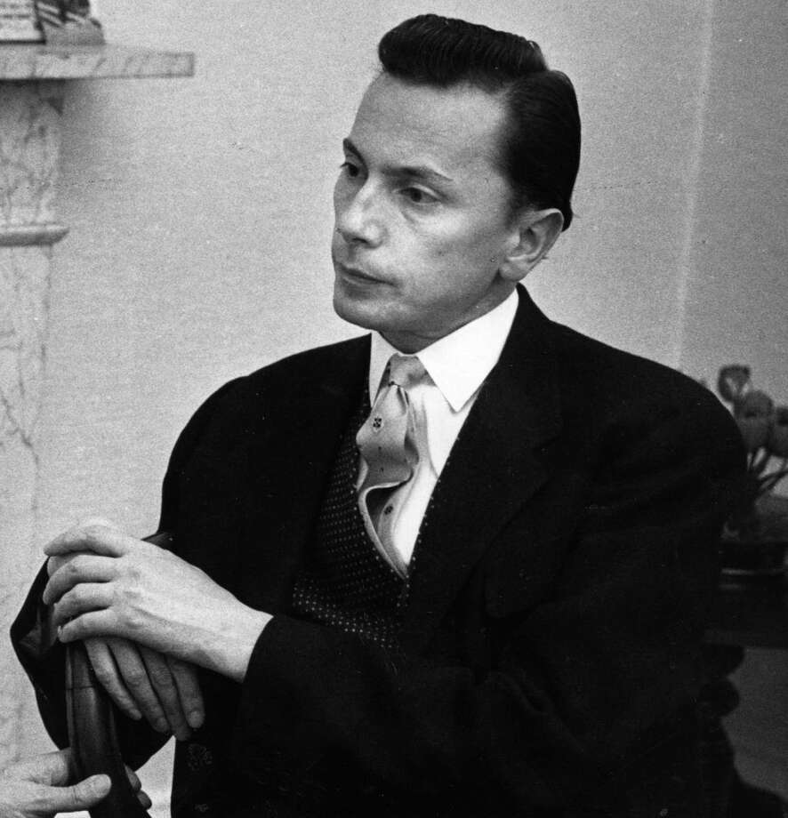Polish-born British composer Andrzej Panufnik (1914 - 1991) at his London flat, 1957. One of his later chamber works,  String Quartet No.3 ìWycinanki (Paper Cuts),î will be performed by the Chamber Players of the Greenwich Symphony Orchestra for two concerts, March 8 and 9, 2015, in Greenwich, Conn. Photo: Erich Auerbach, Getty Images / Stamford Advocate Contributed photo