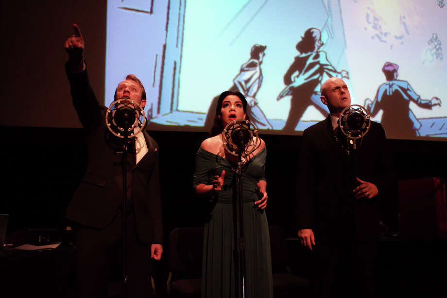 """Jason Neulander's graphic novel """"The Intergalactic Nemesis, Book Two: Robot Planet Rising"""" will be performed at Zellerbach Hall at UC Berkeley on Friday, March 6. Photo: Cal Performances / ONLINE_YES"""