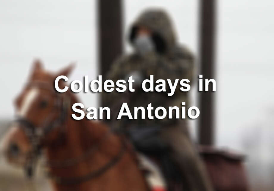 Freezing days in San Antonio don't happen too often, and snow is even more rare. But there are a handful of days in history that prove San Antonians can withstand those single-digit temperatures.Click through the gallery to see the coldest days on record in the Alamo City... Photo: Kin Man Hui, File / ©2015 San Antonio Express-News