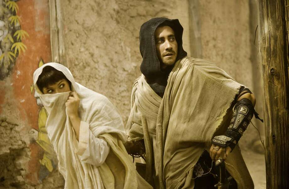 "Gemma Arterton (left) and Jake Gyllenhaal star in ""Prince of Persia: The Sands of Time."" Photo: Handout"