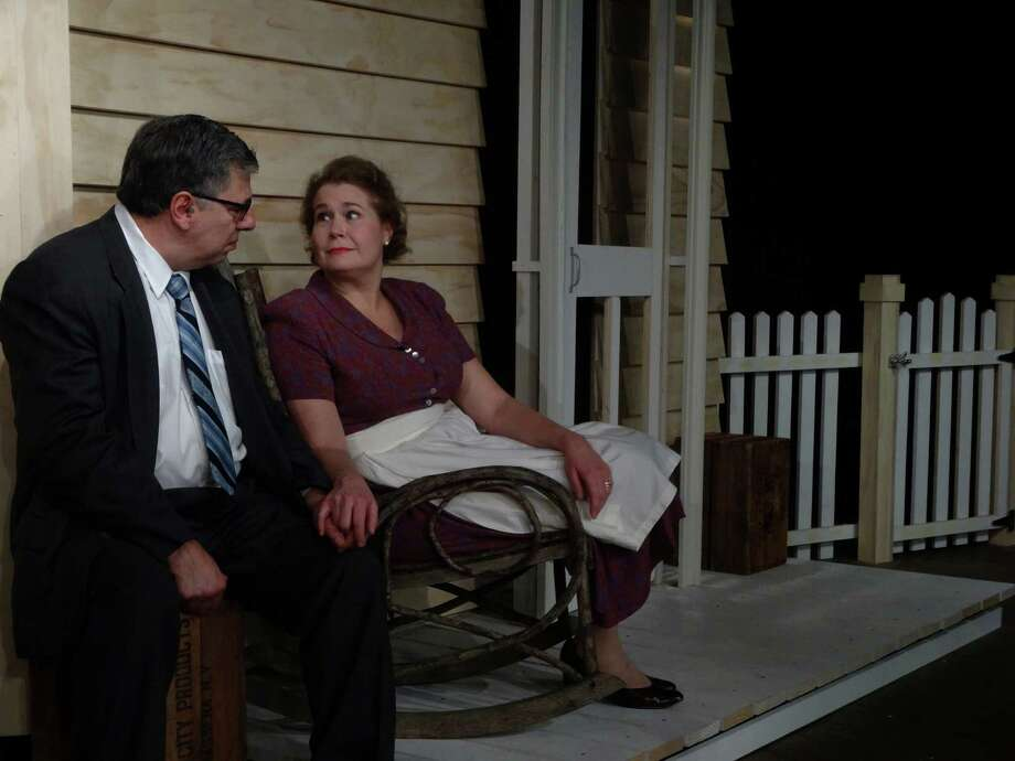 "Karen Pope is playing Kate Keller and John Ponzini is Joe Keller in Arthur Miller's 1947 play ""All My Sons"" which is being presented at Stamford's Curtain Call through March 28. Photo: Contributed Photo / Connecticut Post Contributed"