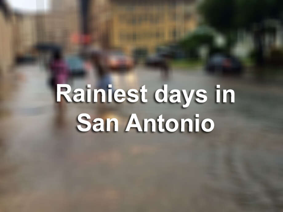 When it rains in San Antonio, it pours, or it clears up within the next 15 minutes. We hardly see the days when it rains constantly, leading to flooding, but there have been instances where rainfall has reached to almost one foot.Here are the rainiest days on record that drenched San Antonio... Photo: File