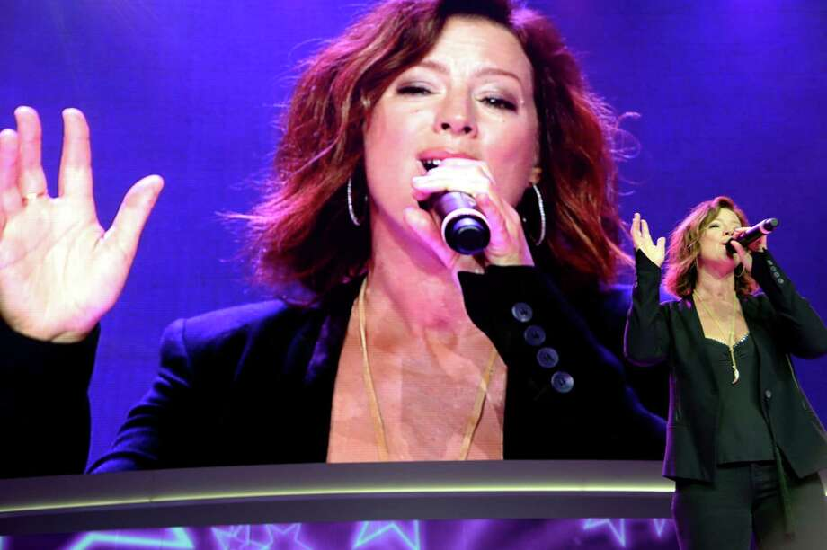 FAYETTEVILLE, AR - JUNE 06:  Musician Sarah McLachlan performs during the Walmart 2014 Annual shareholders' meeting on June 6, 2014 at Bud Walton Arena at the University of Arkansas in Fayetteville, Arkansas.  (Photo by Jamie McCarthy/Getty Images for Walmart) Photo: Jamie McCarthy, Staff / Getty Images For Walmart / 2014 Getty Images