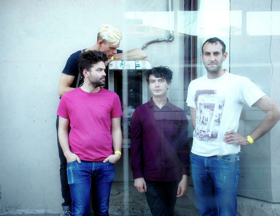Post-punk band Viet Cong is on tour, with a gig at Rickshaw Stop, after releasing its first, self-titled LP to critical acclaim. Photo: David Waldman / David Waldman / ONLINE_YES