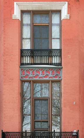 Front windows of house at 10 Madison Place Wednesday Feb. 25, 2015 in Albany, NY.  (John Carl D'Annibale / Times Union) Photo: John Carl D'Annibale / 00030728D