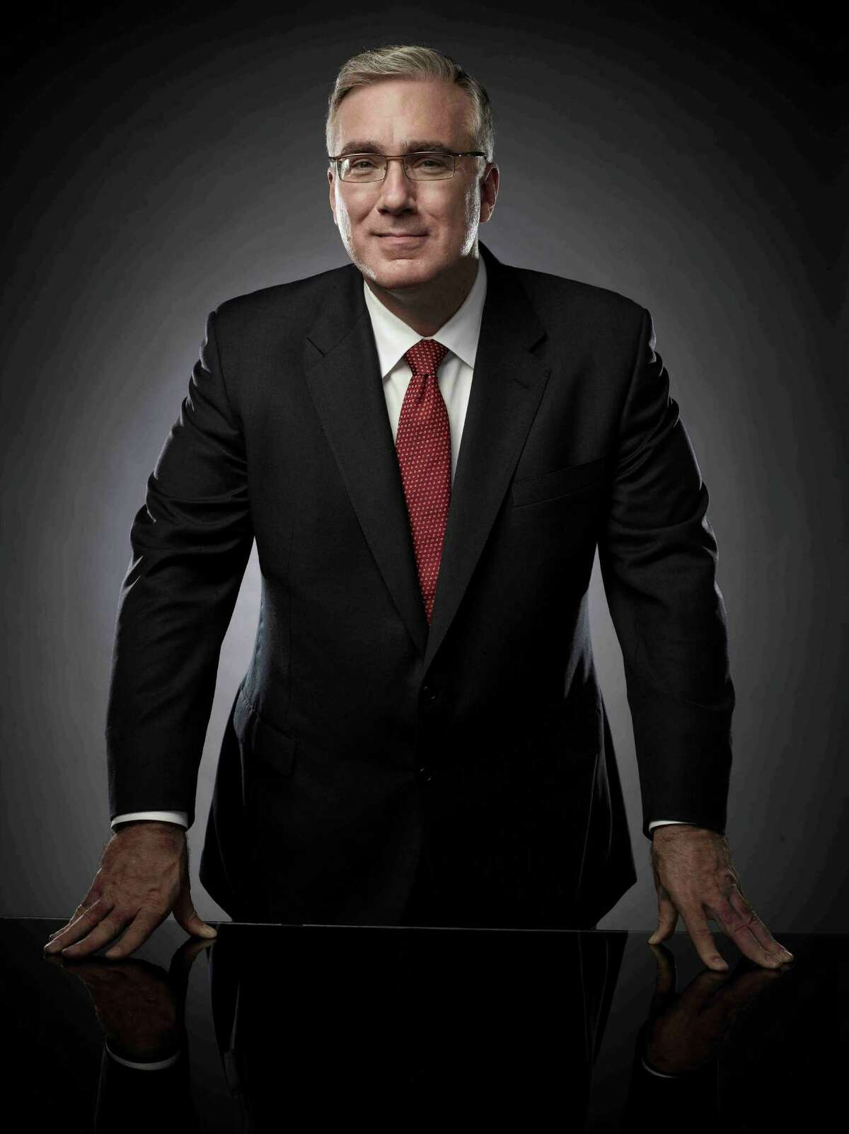 """In this undated photo released by Cuttent TV, commentator Keith Olbermann is shown. Olbermann's new show, Countdown With Keith Olbermann"""" on Current TV premieres on June 20, 2011. (AP Photo/Current TV, Justin Stephens)"""