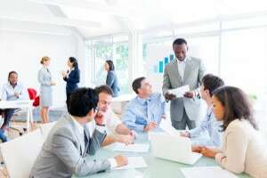 Great office meetings are built on a series of conversations - Photo