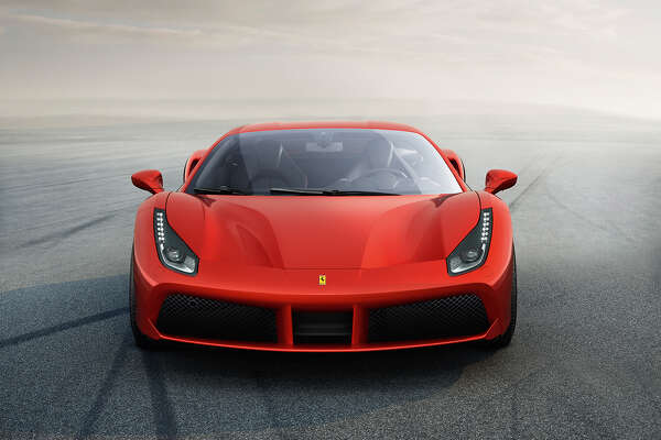 The new 2016 Ferrari 488 GTB was unveiled in February.