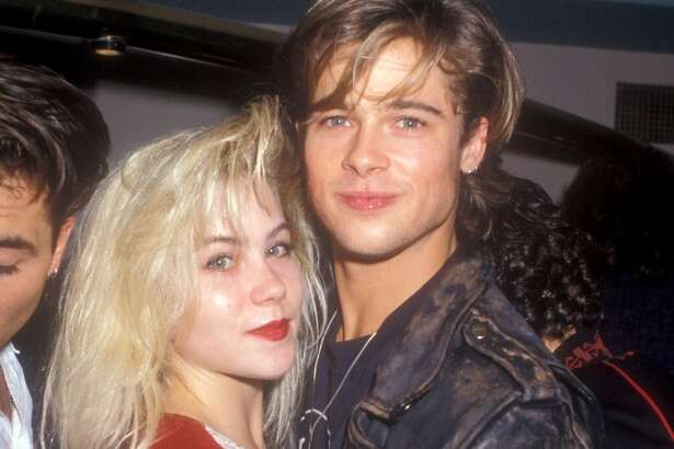 """Before Brad Pitt was super famous, and Christina Applegate was at the height of her """"Married With Children"""" fame, these two dated.   She reportedly took him to the MTV Movies Awards — and ditched him."""