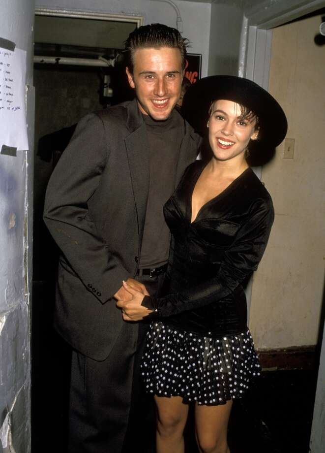 David Arquette and Alyssa Milano dated briefly in the early 1990s, when she was 19, according to an interview she did with Us Weekly. Photo: Ron Galella, WireImage