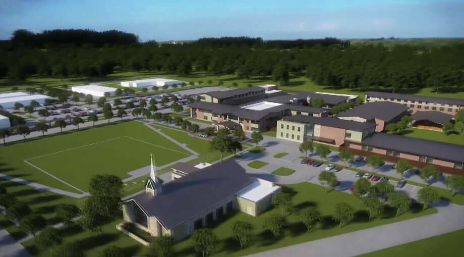 Architect's rendering of Star of Hope's planned Cornerstone Community, near U.S. 288 and Reed Road, a 48-acre housing and social service center for homeless single women and families. The center will accommodate as many as 1,000 people, and essentially double the non-profit's capacity to help women and families. Photo: Courtesy Of Star Of Hope / Courtesy of Star of Hope