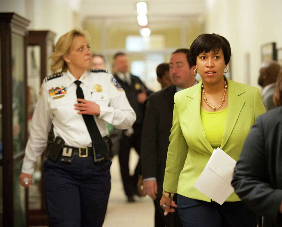 Washington Mayor Muriel Bowser said she's simply following the will of voters. Photo: Katherine Frey /Washington Post / The Washington Post