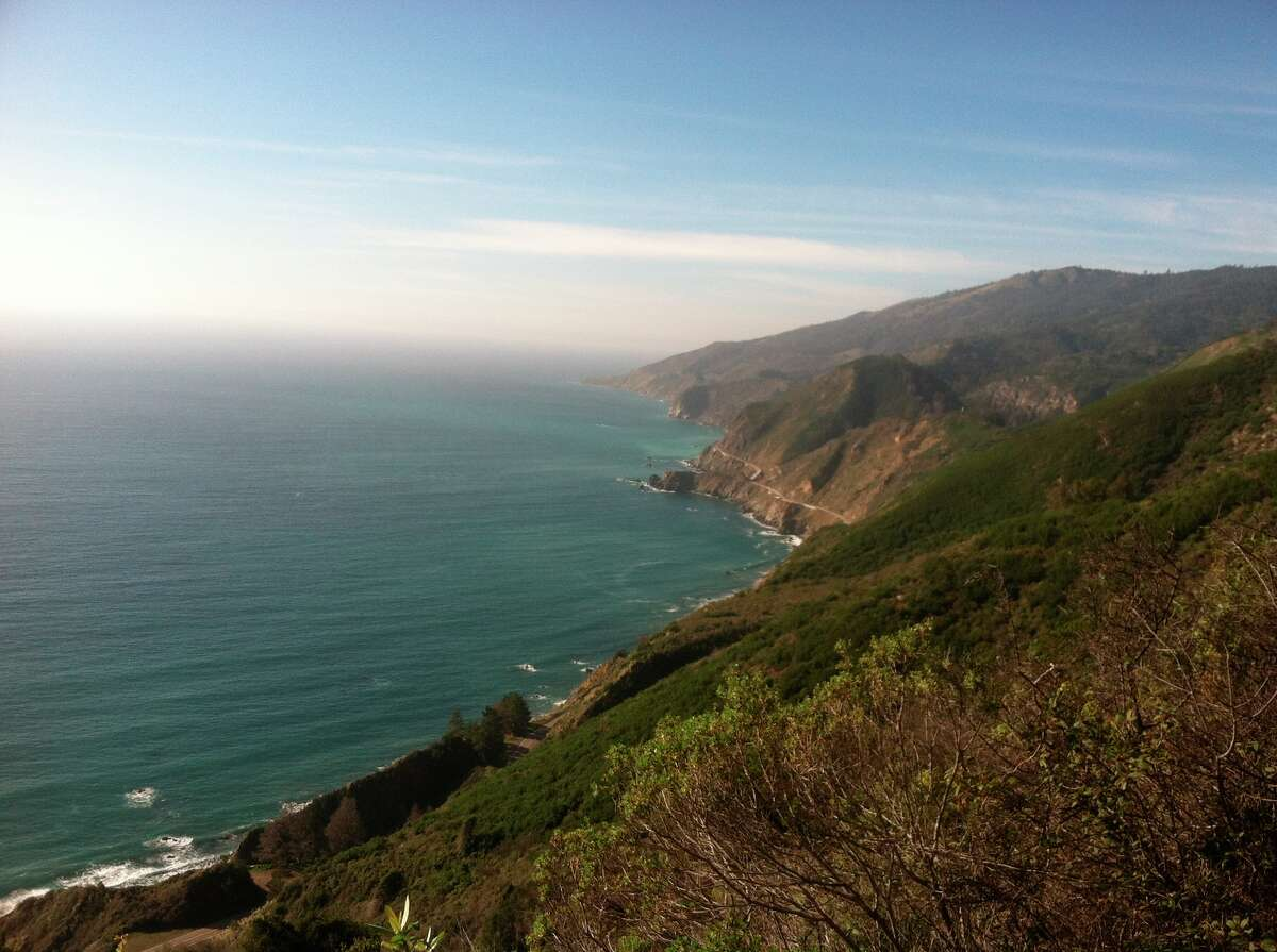 FILE - A view of the Central California coastline, as seen from near the New Camaldoli Hermitage and Big Sur.
