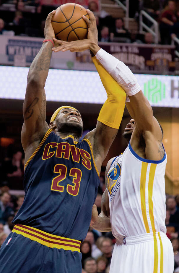 LeBron James' ability to steamroll the Warriors' defense Thursday overrides all the subplots. Superstars win titles. Photo: Jason Miller / Getty Images / 2015 Getty Images