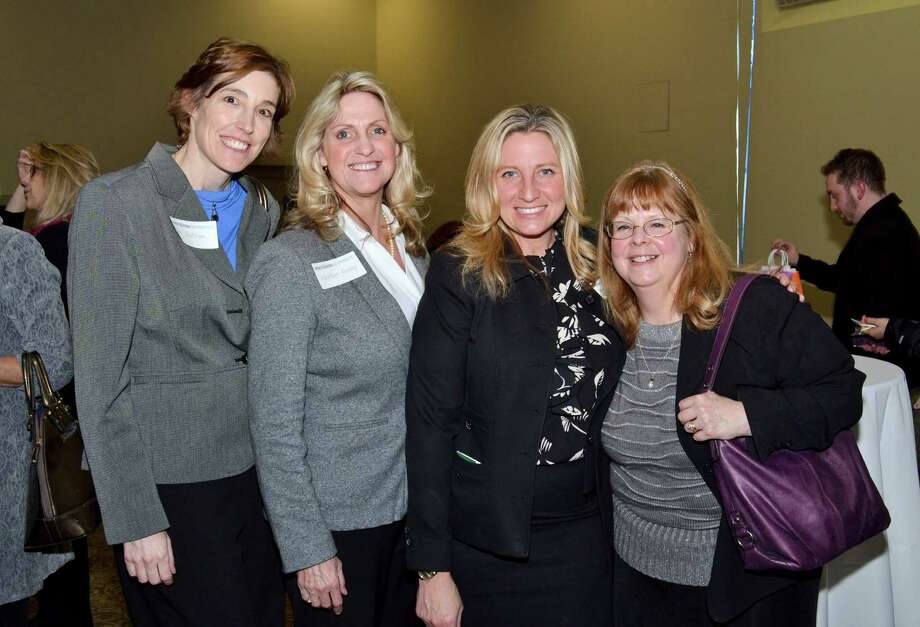 Were you Seen at the Women@Work Connect and Maria College 'Face to Face' networking event at St. Peter's Health Partners Mercy Auditorium in Albany on Thursday, Feb. 26, 2015? Photo: Colleen Ingerto / Women@Work / Women@Work Connect