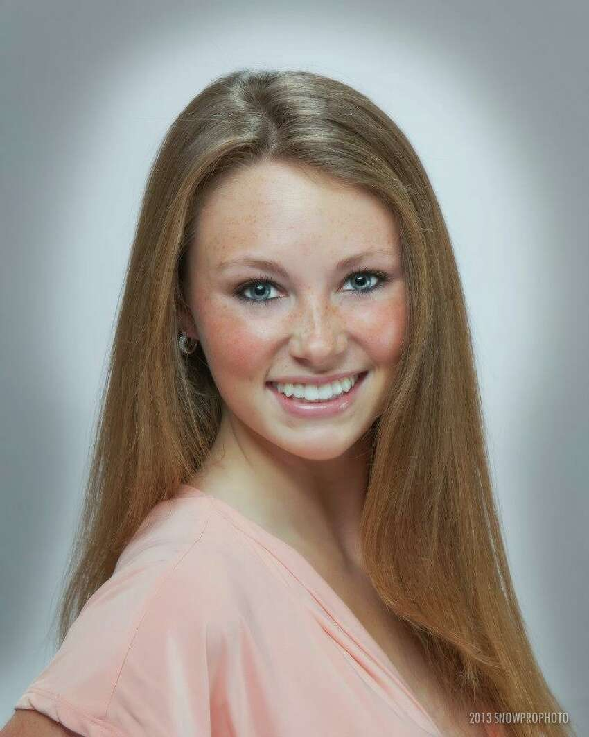 Miss Alamo City 2015, Olivia NovotnyFavorite pageant beauty secrets/tips: Wearing minimal makeup for interviews, Australian gold tanning lotion to shine onstage and