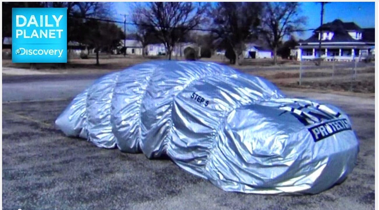 Hail Protection Car Cover >> Texas man who invented inflatable hail protection gadget says business is booming after storms ...