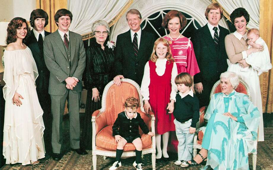 The Carter family. (Annette Carter is at the far left.) Photo: White House