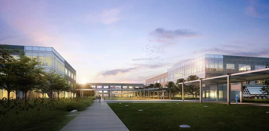 FMC Technologies is building a corporate headquarters campus at Generation Park on the northeast corner of the Beltway 8. Photo: FMC Technologies, Gensler