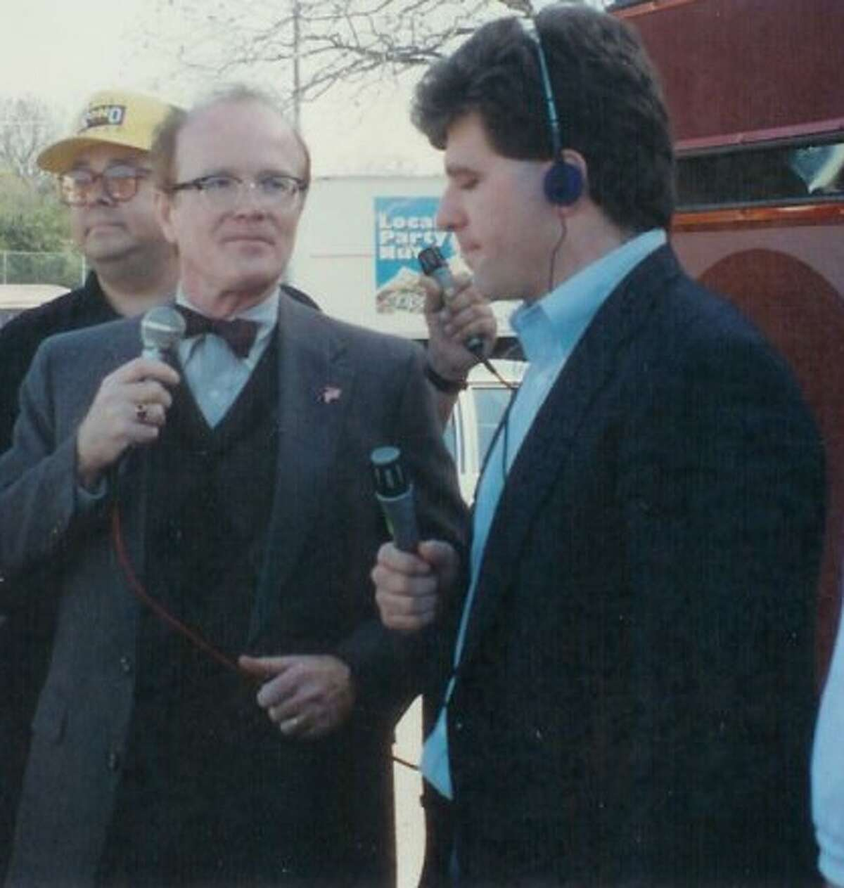 In his music radio days, Trey Ware did a live shot for the old Star-FM with Richard Sanders, aka Less Nessman of 'WKRP in Cincinnati.'