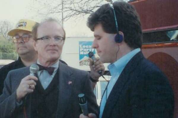 In his music radio days, Trey Ware did a live shot for the old Star-FM with Richard Sanders, aka Les Nessman of 'WKRP in Cincinnati.'
