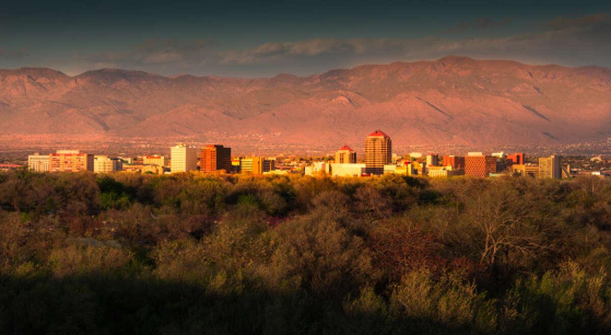 No. 8 Least Dreary (tie) -- Albuquerque, N.M.