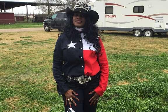 Wanda Randall of the Northeastern Trail Riders Association.