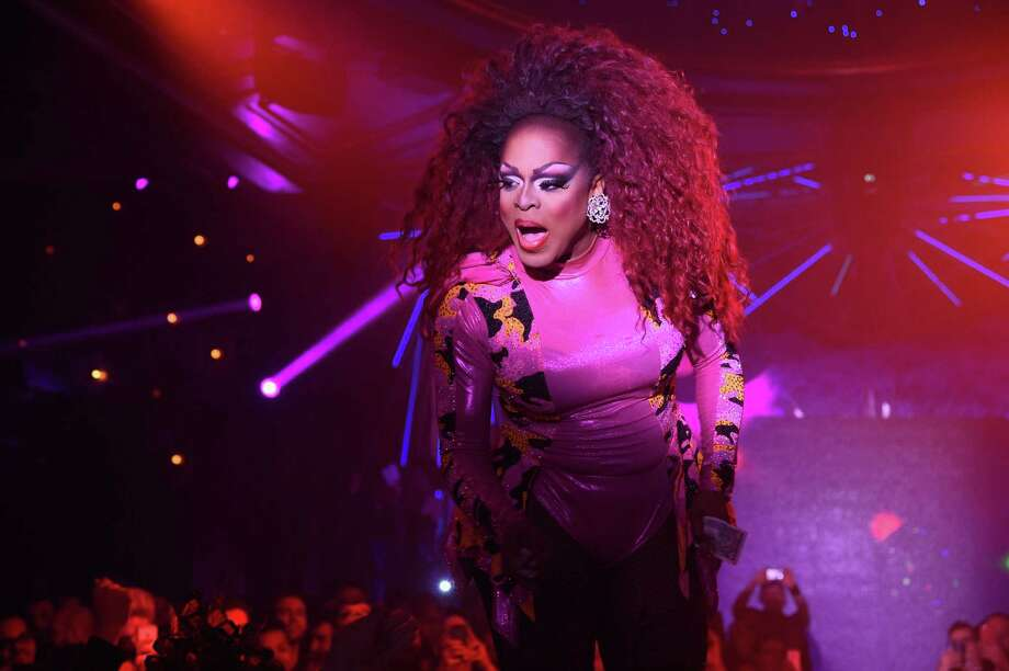 "NEW YORK, NY - FEBRUARY 23:  Kennedy Davenport performs during the ""RuPaul's Drag Race"" Season 7 New York premiere party at Queen of the Night/Diamond Horseshoe at the Paramount Hotel on February 23, 2015 in New York City. Photo: Andrew H. Walker, Getty Images / 2015 Getty Images"