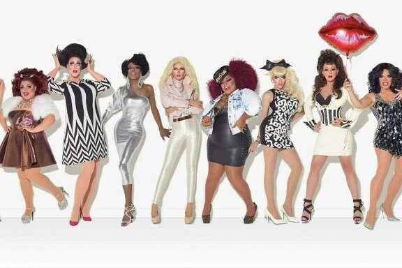 """RuPaul's Drag Race"" Season 7 cast. RPDR Season 7 Group Shot"