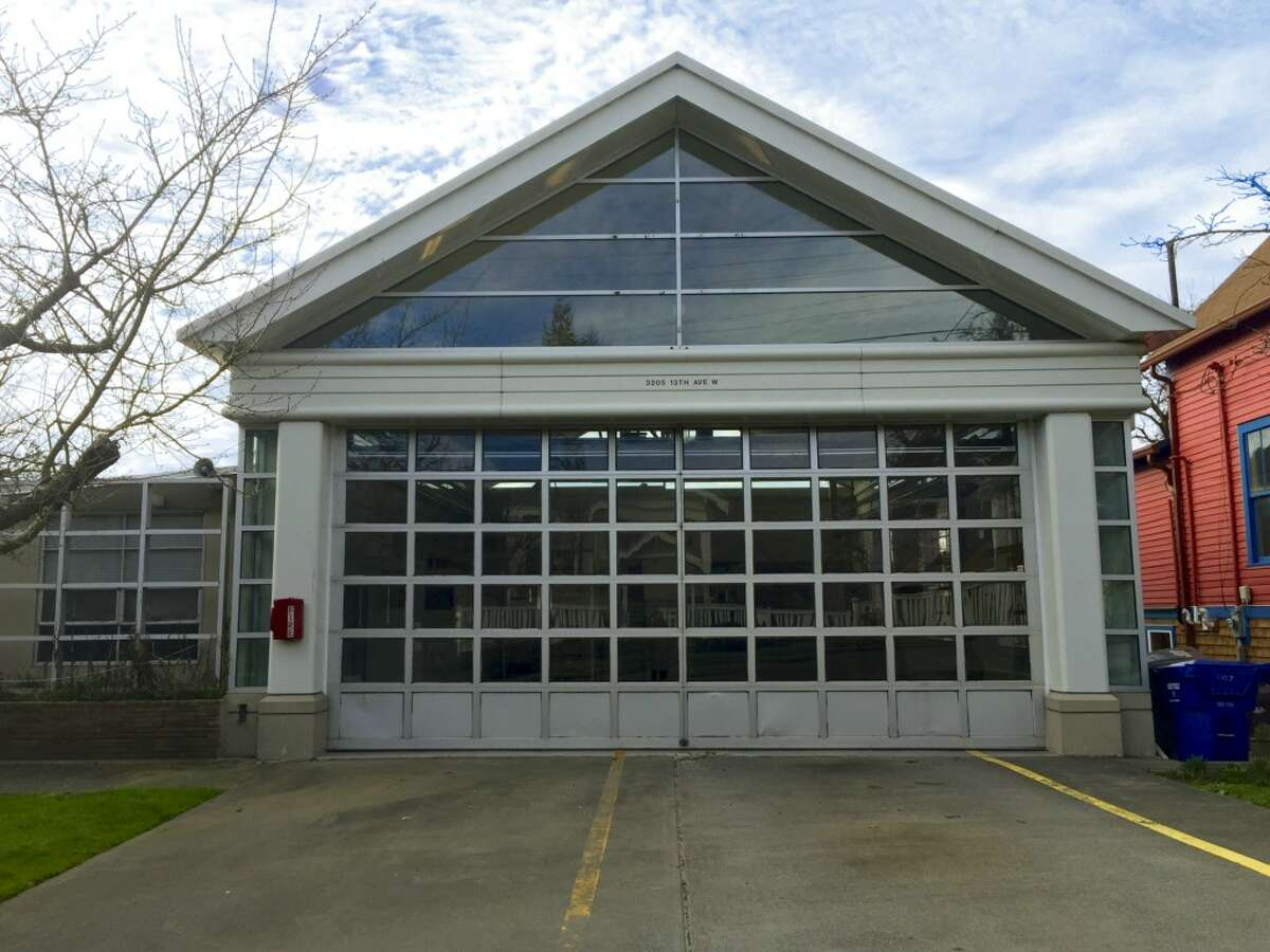 Exterior of former Seattle Fire Station 20, 3205 13th Ave. W.