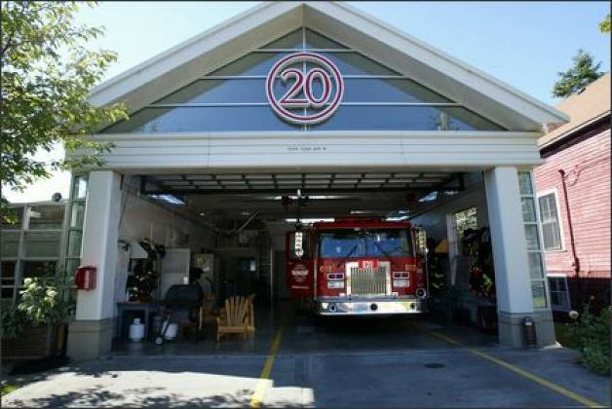 Fire Station 20 during its former life, in 2006.