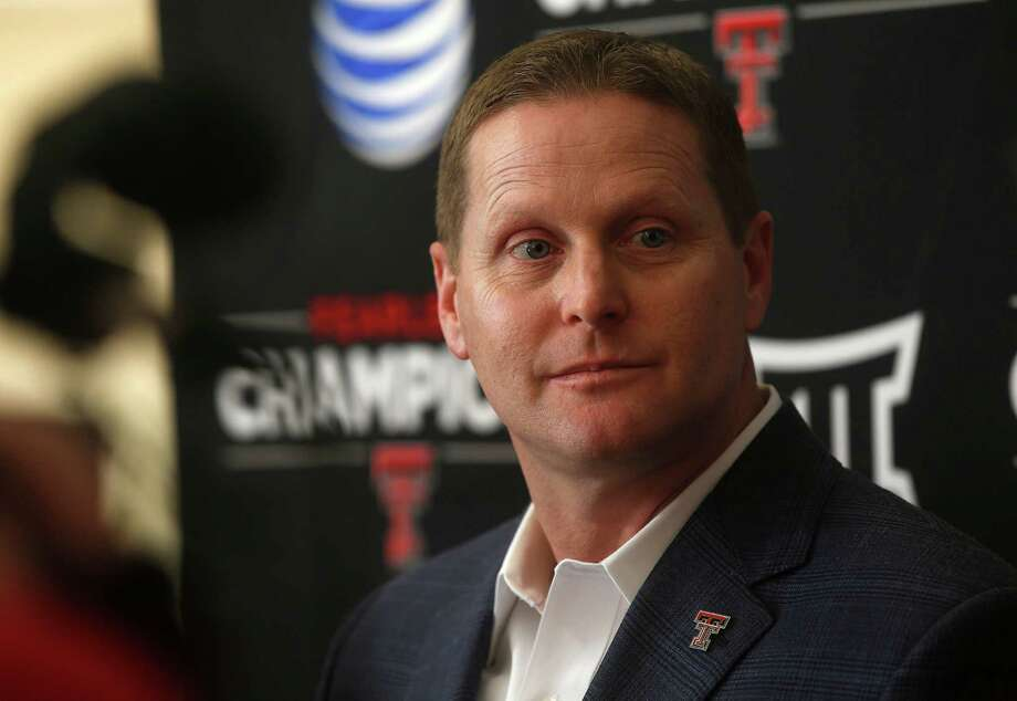 Texas Tech athletic director Kirby Hocutt speaks during a press conference in Lubbock on Feb. 9, 2015. Photo: Zach Long /Lubbock Avalanche-Journal / Lubbock Avalanche-Journal