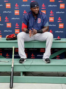 Boston designated hitter David Ortiz made it clear that he does his thinking outside the batter's box.
